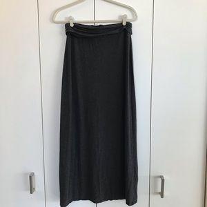 J Crew Modal Maxi Skirt